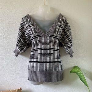 BOGO! 🌼 EUC   Charlotte Russe   Plaid Sweater Top